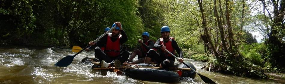 Rafting op Viroin