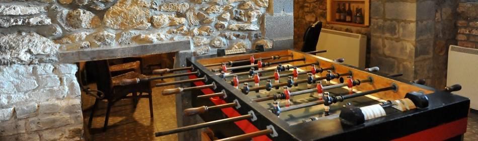 salles de jeux -  kicker ou baby foot à Dourbes