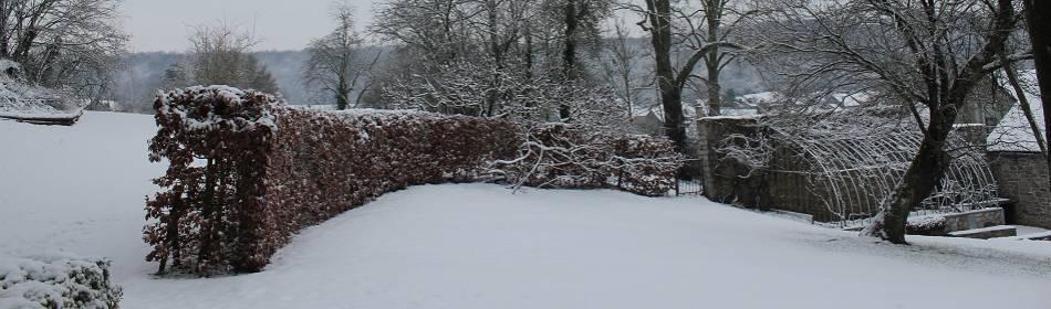 Onder de sneeuw