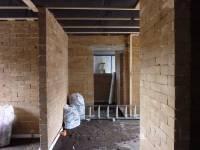 murs en briques d'argile