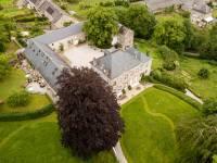 2019 vue aérienne gite 50 personnes salle 100 personnes Belgique