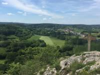 Panorama visibkle de la Roche à Lomme à Dourbes