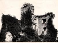 Dourbes, ruïnes van Haute Roche (einde jaren 1950's)