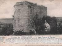 Dourbes, ruïnes van Haute Roche