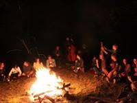 Feu et musique dans la nuit de l'été