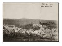 Dourbes, 1914, het brandde dorp