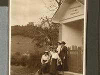 sept 1919  Dourbes calvaire rue des Fays